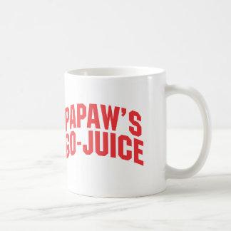 Der Gehen-Saft der Papaya-Frucht Tasse