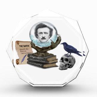 Der Geist von Edgar Allan Poe Acryl Auszeichnung