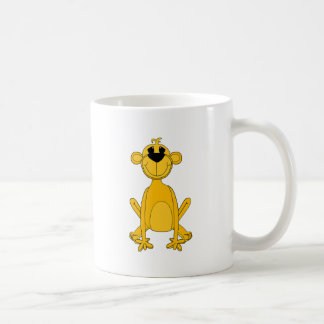 Der gelbe Affe des Kindes Tasse