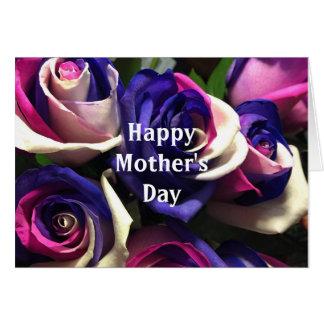Der glückliche Tag der Mutter lustig, aber richten Karte