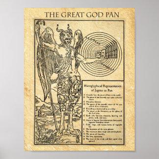 Der GROSSE GOTT PAN Poster