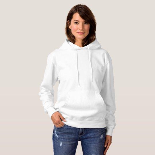Basic Kapuzen-Sweatshirt für Frauen