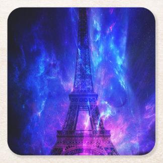 Der Himmels-Paris-Amethyst-Träume der Schaffung Rechteckiger Pappuntersetzer
