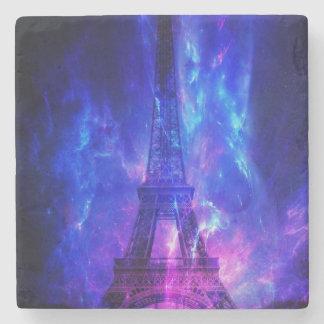 Der Himmels-Paris-Amethyst-Träume der Schaffung Steinuntersetzer
