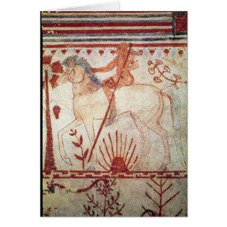 Der Hinterhalt des Trojan Prinzen Troilus Karte