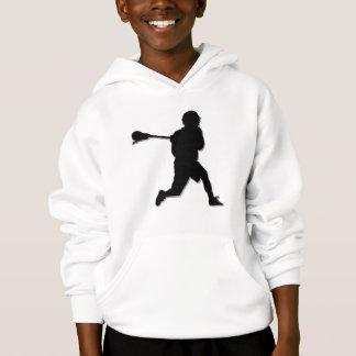 Der Hoodie des Lacrosse-Spieler-Kindes
