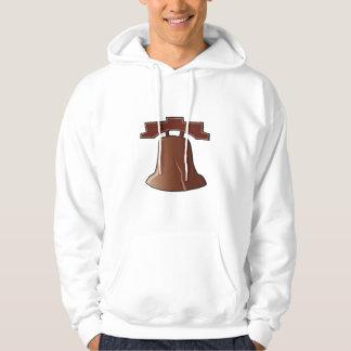 Der Hoodie Liberty Bell-Männer