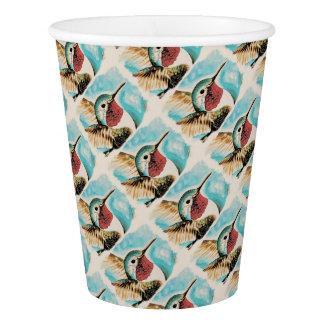 Der hübsche Kolibri des Costas Pappbecher