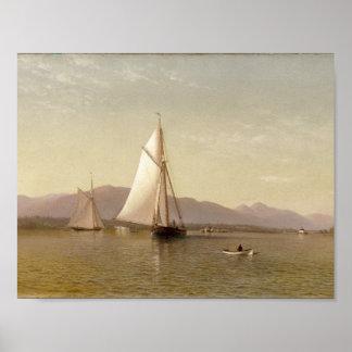 Der Hudson beim Tappan Zee durch Francis Augustus Poster
