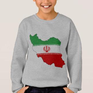 Der Iran-Flaggenkarte Sweatshirt
