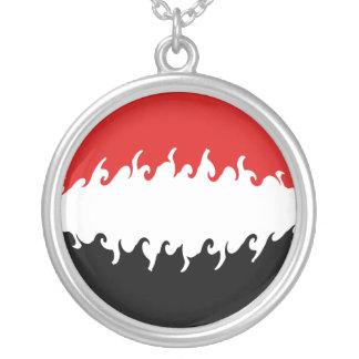 Der Jemen-Gnarly Flagge Halsketten