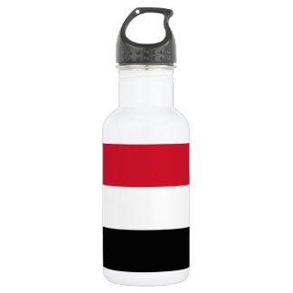 Der Jemen-nationale Weltflagge Trinkflasche