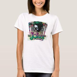 Der Joker - Gesicht und Logo T-Shirt