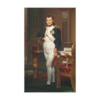 Der Kaiser Napoleon in seiner Studie beim Gespannter Galerie Druck