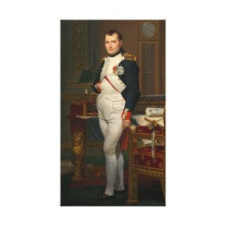 Der Kaiser Napoleon in seiner Studie beim Leinwand Drucke