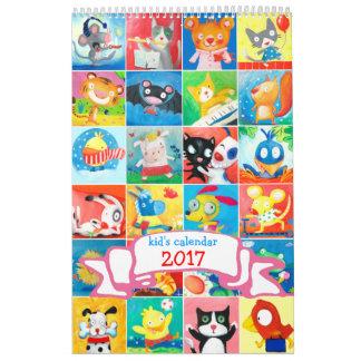der Kalender 2017 des Kindes