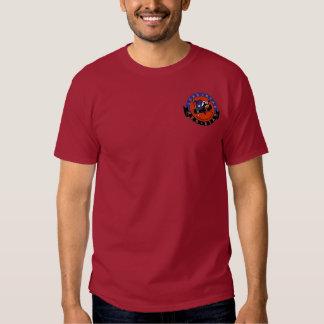 Der kastanienbraune T - Shirt roter Stern-der