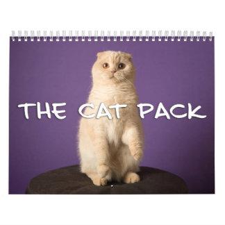 Der Katzen-Satz Wandkalender