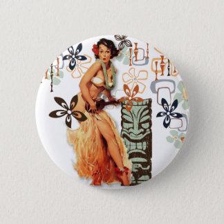Der Kitsch Bitsch: Aloha Oops! Runder Button 5,1 Cm