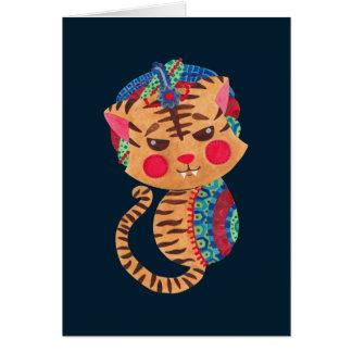 Der kleine bengalische Tiger Karte