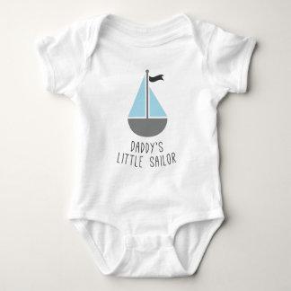 Der kleine Seemann des Vatis Baby Strampler