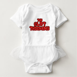 Der Klumpen verdickt Baby Strampler