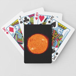 Der kochende Sun Bicycle Spielkarten