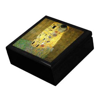 Der Kuss durch Gustav Klimt Große Quadratische Schatulle