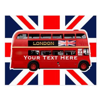 Der London-Bus Postkarte