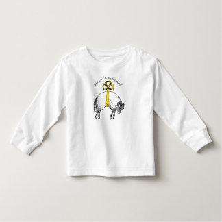 Der LORD ist mein Schäfer Psalm 23 Kleinkinder T-shirt