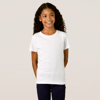 Der Mädchen verurteilen Jersey-T - Shirt