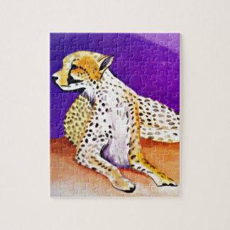 Der majestätische Gepard (Kunst Kimberlys Puzzle