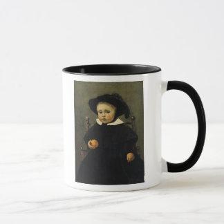 Der Maler Adolphe Desbrochers als Kind Tasse