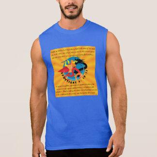 Der Männer Sleeveless T-Shirt-Rüstung die Ärmelloses Shirt