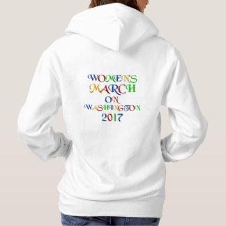 Der März der Frauen auf Washington 2017 Hoodie