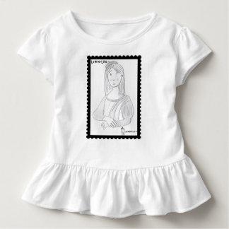 Der mona Luisa ,(mit Lenkrädern kleidet) Kleinkind T-shirt