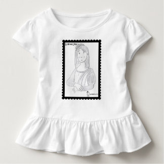 Der mona Luisa ,(mit Lenkrädern kleidet) Kleinkinder T-shirt