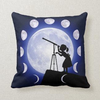 Der Mond-Phasen-Astronomiekissen des Astronomen Kissen
