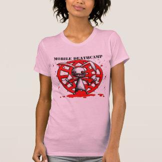 """""""Der Mord-Häschen"""" Rosa-Shirt beweglicher T-Shirt"""