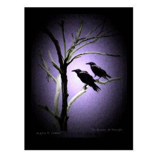Der Mord, um Mitternacht Postkarte