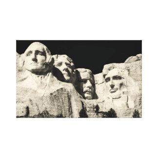 Der Mount Rushmore Monument in South Dakota Leinwanddruck