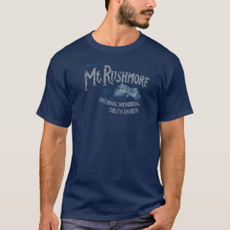 Der Mount Rushmore nationales Memorial Park USA T-Shirt