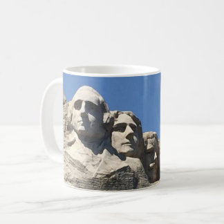 Der Mount Rushmore nationales präsidentialmonument Tasse