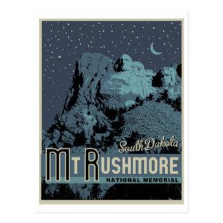 Der Mount Rushmore Nationalpark-Denkmal-Postkarte Postkarte