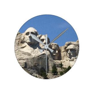 Der Mount Rushmore Wanduhr