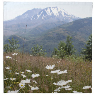 Der Mount Saint Helens Stoffserviette