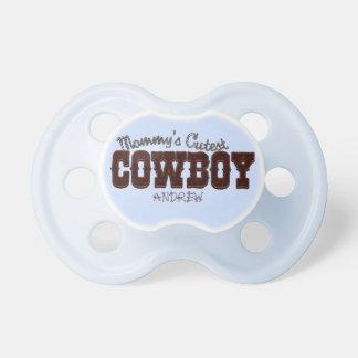 Der niedlichste Cowboy der Mama Schnuller