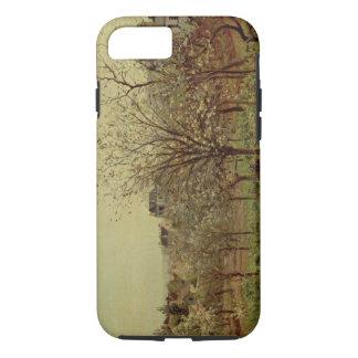 Der Obstgarten, 1870 (Öl auf Leinwand) iPhone 8/7 Hülle