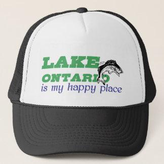 Der Ontariosee ist mein glücklicher Platz Truckerkappe