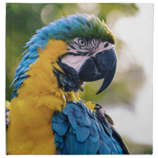 Der Papagei Stoffserviette